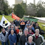 Locked-out energy workers plan rally