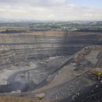 Aborigines protest coal mining