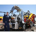 Bravery awards for firies at QLD truck explosion