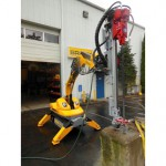 Brokk releases remote control hydraulic drifter rock drill