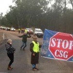 Gun shots heard at CSG protests