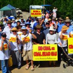 Blockade ends as coal company wins land access case