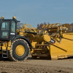 Cat launches new wheel tractor scraper