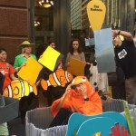 Anti-coal protestors target Commonwealth Bank branches
