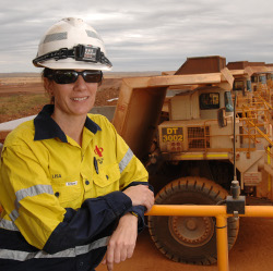 Q and A with a dump truck driver - Australian Mining