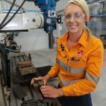 HVTC lady tradie inspires others this International Women's Day