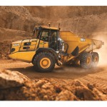 First new articulated dump trucks hit Australia