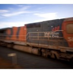 Gunman shoots at BHP iron ore train