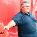 Miner says he's a 'big bloke' but 'very fit'