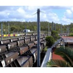 Train drivers strike at Aurizon rail yard