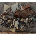 New type of rock, conglomeration of plastic