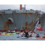 Pacific protesters block Newcastle coal port