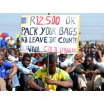 Platinum strikes continue, possible sell out in South Africa