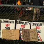Protestors not backing down from Whitehaven Coal