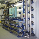 Reverse osmosis to purify fracking water at Gloucester