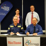 Rio Tinto partners with Mackay Engineering College