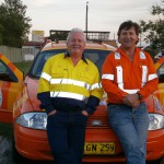 Coal miners head into Australia's outback for Cancer Research