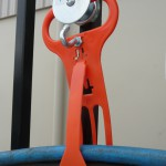 Magnetic cable and hose hangers