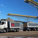 Scania launches new tipper and dog solution for the resources industry