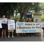 Students call on QUT to sever ties with Adani