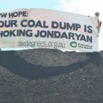 Coal protesters fined in court