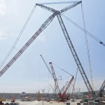 World's tallest crawler crane in Germany