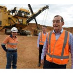 Tony Abbott defends BHP's 100% FIFO coal mine