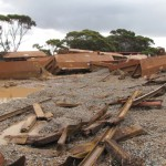 Iron ore train derails in WA
