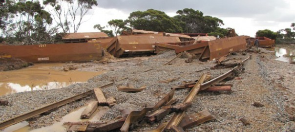 Iron ore train derails in WA - Australian Mining