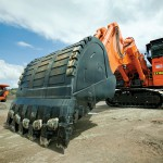 World's first Hitachi backhoes delivered to Australian coal mine