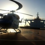 Man airlifted from Rio bulk carrier