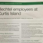 Curtis Island workers face tax audits