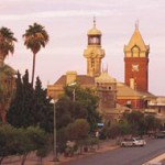 BHP executives visit Broken Hill for heritage talks