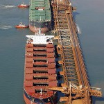 BHP Billiton celebrate the export of one billionth tonne of iron ore to Japan