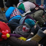 Anti-mining protestors a bunch of clowns