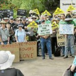 Bligh faces Darling Down anger over mining