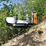 New rig developed for slope drilling