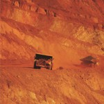 Large drop for iron ore prices