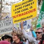 Whitehaven Coal protests head to Sydney CBD