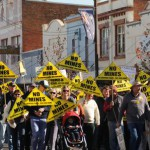 400 people march in protest against Shenhua's Watermark Coal project