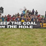 Activists fight to farm food not coal