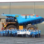 Miner turns trucks blue to fight cancer