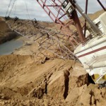 6 amazing images of dragline accidents