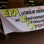 Greens protest following uranium mine approvals