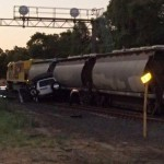 Man injured after alumina train incident