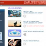 New online exploration reporting system launched