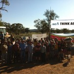 Protesters block entrance to Whitehaven's Maules Creek Mine project