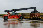 Kalmar reach stacker delivered to Newcrest Mining