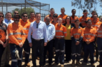 BHP donates 53m of rail track to boost training focus