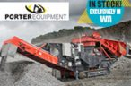 Porter Group appointed agent for Sandvik mobile crushers and screens for Western Australia